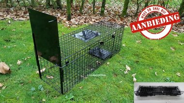 Kattenvangkooi inklapbaar 80x25x30cm