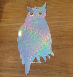 Vogelschrik hologramuilen 5 stuks